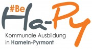 be ha py Logo